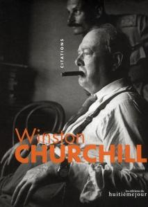 Couverture Citations Winston Churchill