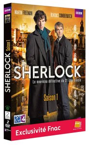 Coffret DVD série Sherlock saison 1