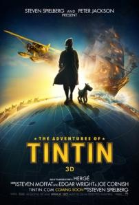 Afiche du film Tintin et le secret de la Licorne