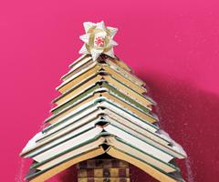 Arbre Livre Noel A Livre Ouvert