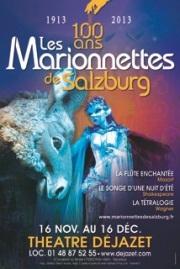 Affiche des Maionnettes de Salzburg