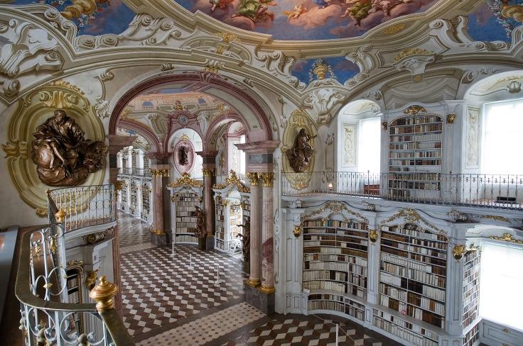 """Résultat de recherche d'images pour """"Bibliothèque du Monastère bénédictin d'Admont, Autriche"""""""
