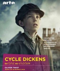 Début du cycle Dickens sur Arte