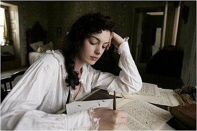 Jane Austen écrivant