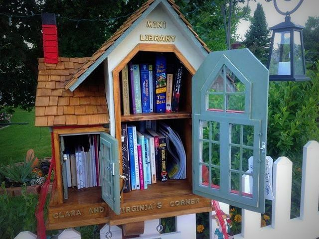 how to get a little free library