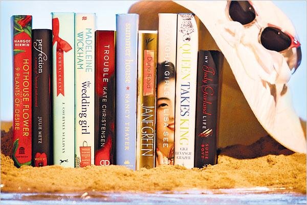 books-plage