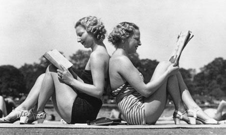 lecture-plage-vintage