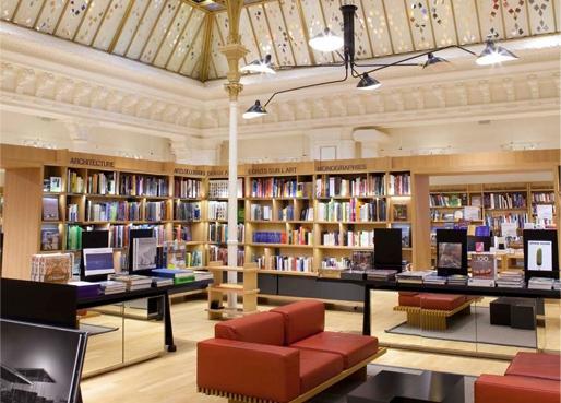Dernier étage : librairie