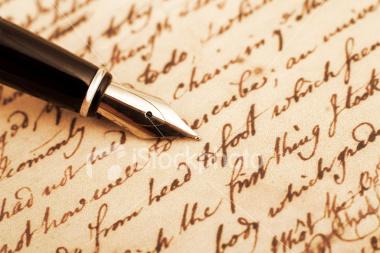 stylo plume ecriture