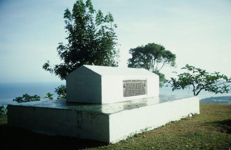 Tombe de Stevenson - Samoa