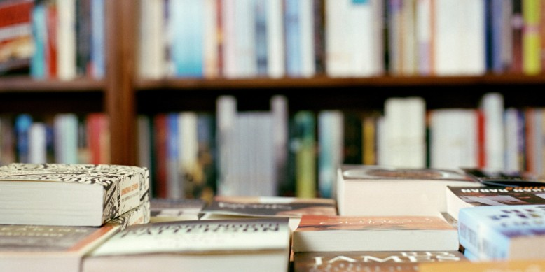 interior of bookshop
