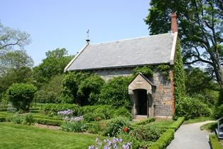 Extérieur de la Stone Library