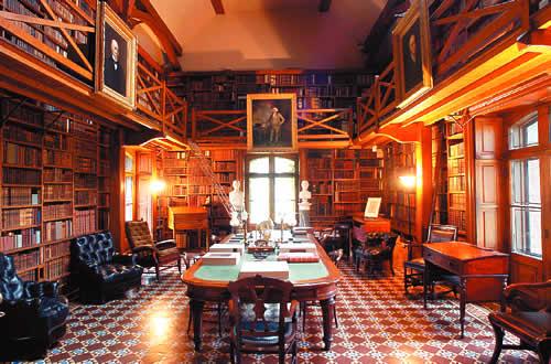 Intérieur de la Stone Library