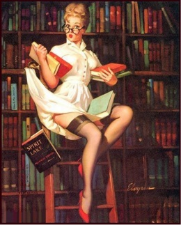 bibliothecaire-pin-up