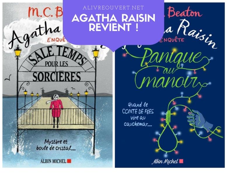 Albin Michel publie 2 nouvelles enquêtes d'Agatha Raisin