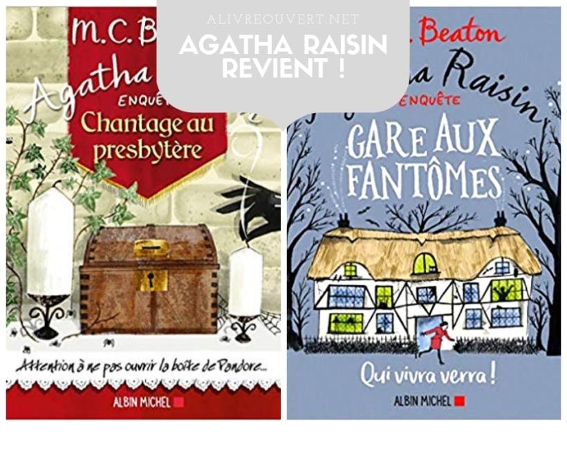 Tomes 13 et 14 des enquêtes d'Agatha Raisin