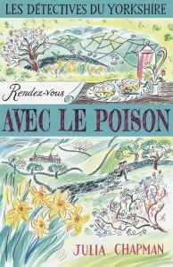 Rendez-vous avec le poison, roman policier de Julia Chapman