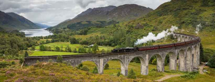Jacobite Steam Train, train Harry Potter Ecosse
