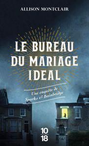 Le Bureau du mariage idéal, roman policier d'Allison Montclair