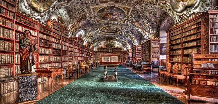 bibliothèque-prague